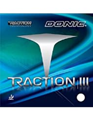 Table Tennis Rubber Donic Traction III, 2.1 mm, red