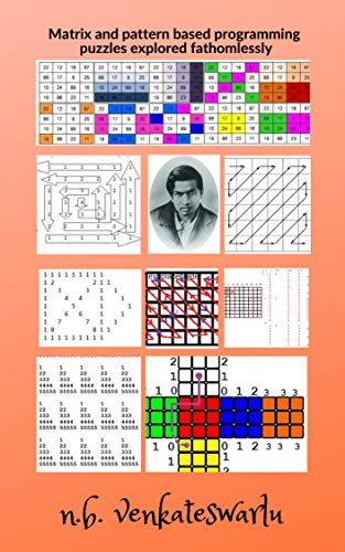 Matrix and pattern based programming puzzles explored fathomlessly