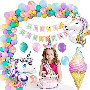 MMTX Unicornio Decoración de Cumpleaños