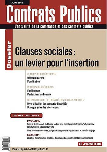 ACTUALITE DE LA COMMANDE PUBLIQUE ET DES CONTRATS PUBLICS Nº122