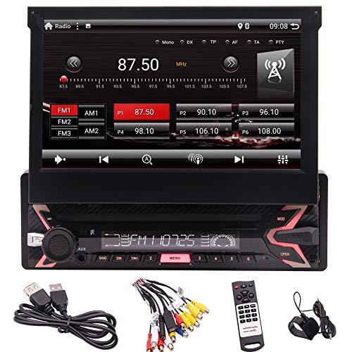 EINCAR Single Din Android 9.0 Auto-Stereo 7-Zoll-HD-Touch Screen MP3-MP5 Keiner CD/DVD-Unterstützung Bluetooth Screen-Spiegel GPS-USB/SD WiFi 3G 4G 1024 * 600 Hohe Auflösung