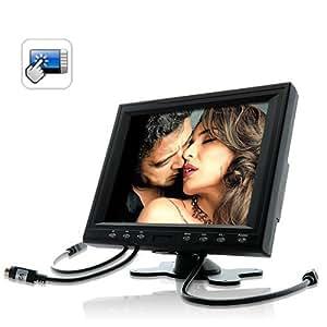High-Tech Place Ecran / Moniteur portable USB 8 pouces tactile (Touchscreen) - (Voiture , PC , Point de vente)