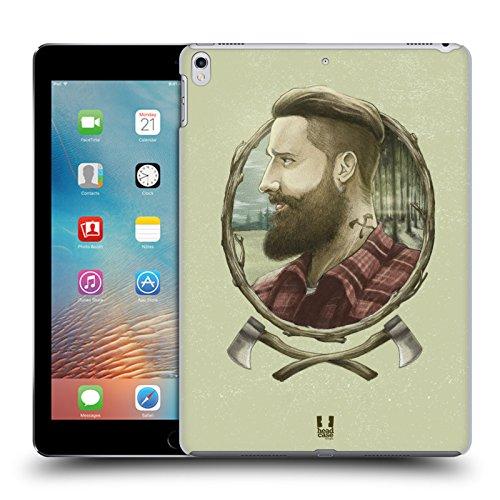 Head Case Designs Holzhacker Männliche Hipsters Ruckseite Hülle für iPad Pro 10.5 (2017)