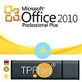 Microsoft® Office 2010 Professional 32 bit & 64 bit - Original Lizenzschlüssel mit USB Stick von - TPFNet®