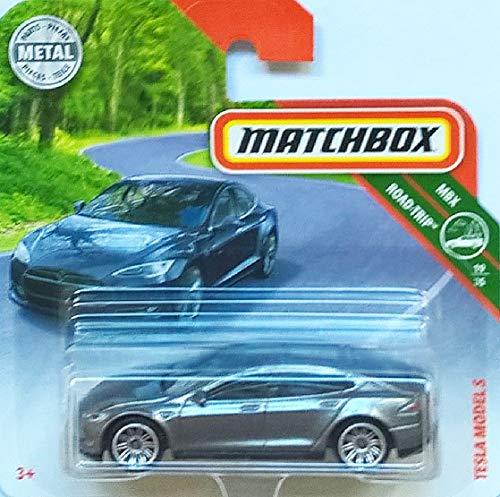 MATCHBOX Tesla Model S - 1:64 - Farbe: Ferro Metallica
