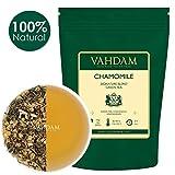 Kamille mit grünen Teeblättern aus dem Himalaya (100 Tassen) 100% Natürlicher Kamillentee - Beruhigend, Erfrischend & Entspannend, Schlafenszeit Tee, 100g (2er SET)