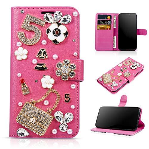 Forhouse Nokia 7.1 Plus (Nokia X7) Hülle, Ledertasche, Premium PU Leder Schutzhülle Flip Magnet Brieftasche Kartenfach Schlanke stoßfest Schutzhülle für Nokia 7.1 Plus (Nokia X7)