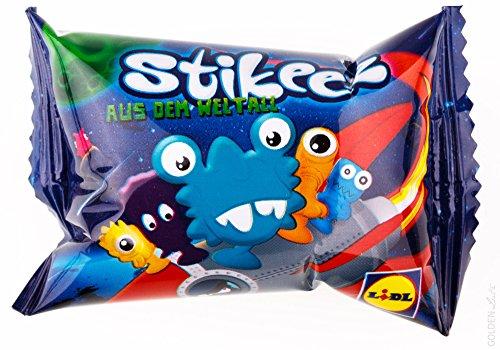 "Preisvergleich Produktbild 10x Lidl Stikeez® 2014 ""Aus dem Weltall"" (originalverpackt)"