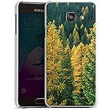 Samsung Galaxy A3 (2016) Housse Étui Protection Coque Forêt Arbres Nature