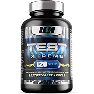 Test Xtreme for Men - HIGH in ZINC which contributes to normal TESTOSTERONE LEVELS in the blood - Magnesium Intake Booster - 120 Capsules