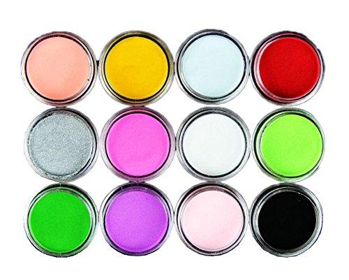 Manucure Nail Art Décorations dans 12 couleurs différentes