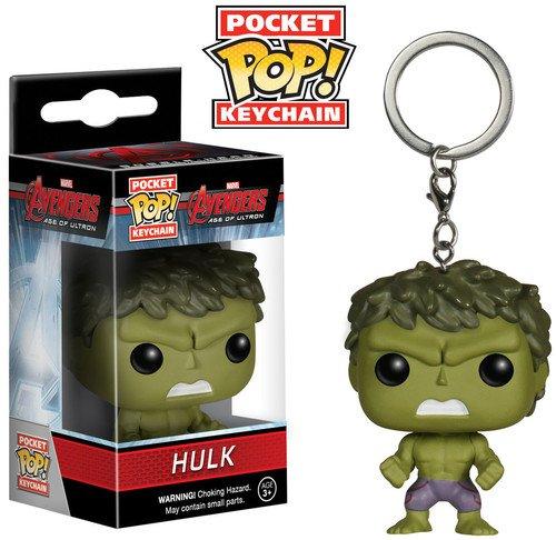 Funko Pop! -Los Vengadores Pocket Keychain: Marvel: Avengers AOU: Hulk (5226)