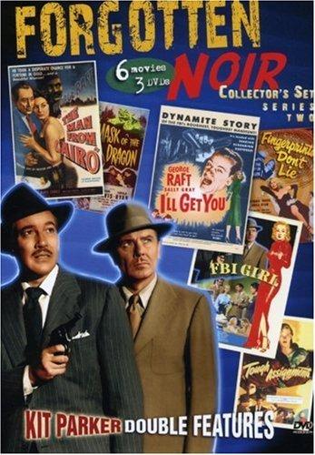 Bild von Forgotten Noir Collector's Set 2 (Man From Cairo / Mask of the Dragon / FBI Girl / Tough Assignment / I'll Get You / Fingerprints Don't Lie)