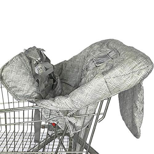 Dadahuam Einkaufswagenschutz Mit Gürtel 12070cm Weiches Bequemes Tragbares Multifunktionales Kissen Für Kinder -