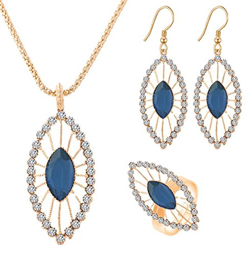 saysure-crystal-leaf-necklace-earrings-ring-gold-color-jewelry-set