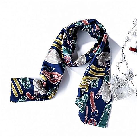 YRXDD The spring of the silk scarf stylish female wild