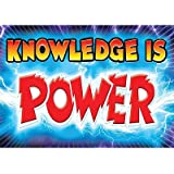 Knowledge is Power! Classroom Inspirational Poster