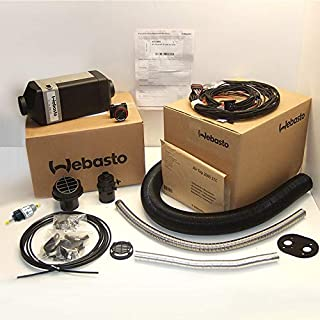 Webasto Air Top 2000STC heater Diesel single outlet 12v Kit | 4111385C | FREE Mount Plate Included