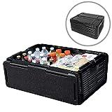 QNMM 60 l Faltbare Lagerung Inkubator tragbare Kühlschrank Isolierung Wasserdichte Kühler Outdoor Multi-Tool für Parteien, Picknicks, Camping, Strände
