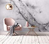 Keshj Graue Farbe Geometrische Marmor Textur Wandbild 3D Wallpaper Für Wohnzimmer Sofa Hintergrund Schlafzimmer 3D Wandbild Tapeten Wohnkultur-350cmx245cm