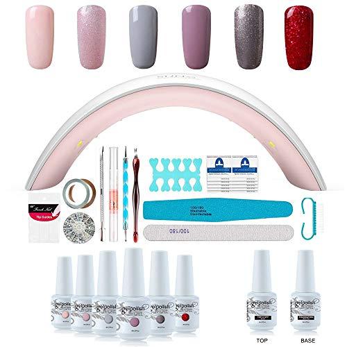 Kit Manucure Complet Vernis Semi...