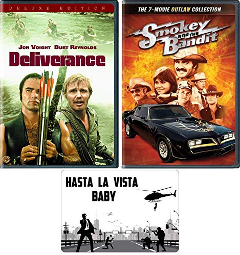 Burt Reynolds: Deliverance and Smokey and the Bandit 8 Movie DVD Collection with Bonus Art Card