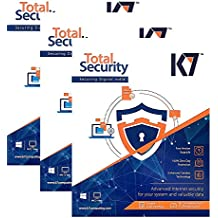 K7 Total Security - 3 PC, 1 Year(CD)