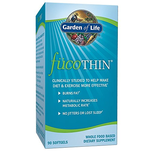 Garden of Life FucoTHIN Concentrated Fucoxanthin (90 Softgels) Review and Comparison