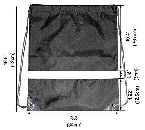 cbb7433ede Coulisse zaini borse da palestra per uomini bambini ragazzi scuola PE con  cordoncino kit nuoto sport