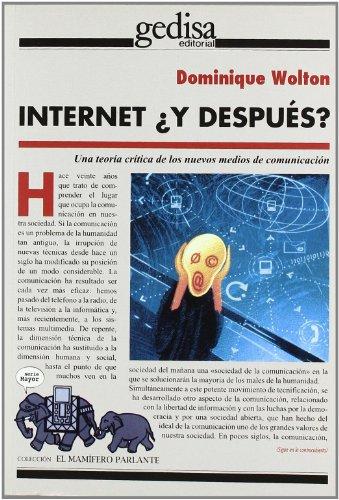 Internet ¿y después? (El Mamifero Parlante)