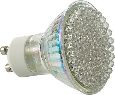 LUMIRA LED-Leuchte mit 80 LEDs und 400 Lumen, Kaltweiß, GU10, 60° Abstrahlwinkel, 4,0 Watt, 230V von Lumira auf Lampenhans.de
