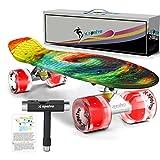 Xspolve 55cm Mini Cruiser Stil Skateboard