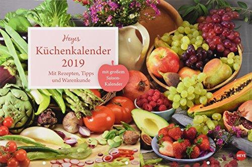 Küchenkalender Broschur XL - Kalender 2019