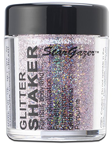 Stargazer Products Starlight Glitzer Streudose, Pink Nebula, 1er Pack (1 x 5 g) (Make Up Gesichts Haar)
