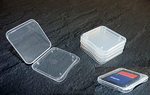 5 Stück Schutzhülle für SD Speicherkarte (Für SD Karte (Extra Flach))