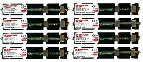 Komputerbay Arbeitsspeicher RAM FB-DIMM mit Hitzeverteilern (DDR2, PC2-5300F, 667MHz, CL5ECC, 240-polig) 32GB (8x4GB) 800Mhz MAC HS -