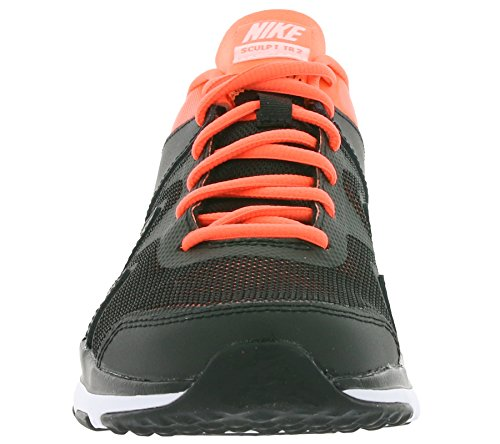 Nike Wmns Air Sculpt Tr 2, Baskets Basses Femme Noir - Negro (Black / White-Bright Mango)