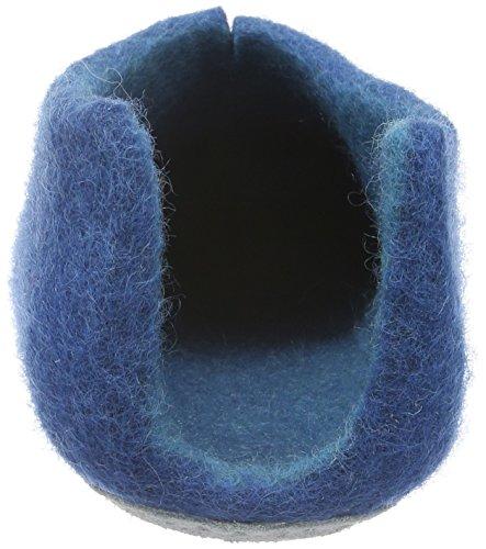 Rohde - Sicilia, Guanti imbottiti caldi Donna Blu (Blu (blau 50))