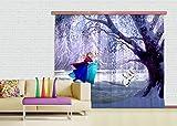 Gardine/Vorhang FCC xxl 4006 Kinderzimmer Disney Frozen