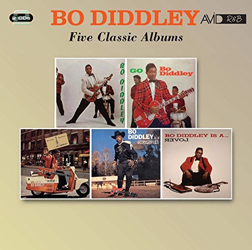 Bo Diddley- Four Classic Albums