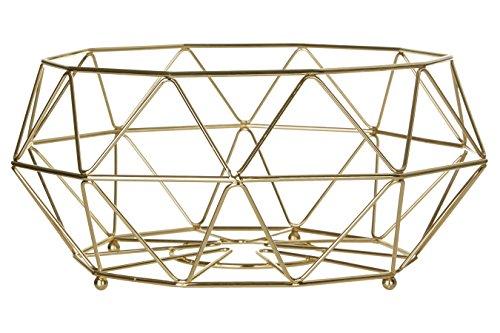 Premier Housewares Vertex Obstkorb–32cm–vergoldet