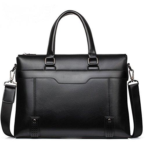 Business Men Aktentaschen Bag PU Leder Handtasche Laptop Tasche Casual Vintage Mann Tasche Umhängetaschen Bolsa Maleta