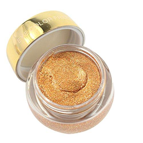 Meisijia Couleur Unique Make Up Shimmer étanche Maquillage Crème Fard à Paupières Long Lasting Metallic Eye Shadow Glitter Gel