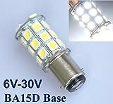 2x 1157 BA15D 27 SMD 5050 LED Autolampen Birne Scheinwerfer Weiß Lamp 6V/12V/24V