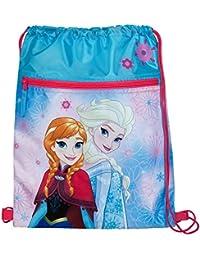 Undercover Sac à chaussures, Disney Frozen, Env. 40x 32x 0,5cm Sac de gym, 40cm, bleu