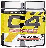Cellucor C4 Ripped - Pre-Workout-Pulver - thermogener Fatburner - Männer & Frauen - Kirsch-Limonenwasser - 30 Portionen -
