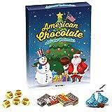 American USA Chocolate Advent Calendar Reeses Hershey's...