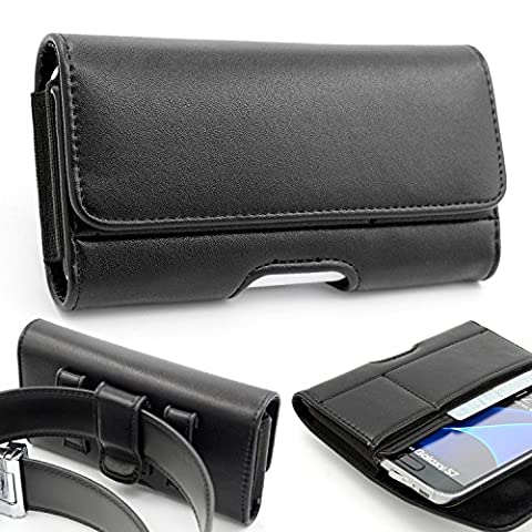 Etui Porte Carte Galaxy S6 - iphone 7 Ceinture Étui, Mopaclle Cuir de