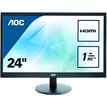 "AOC E2470SWH Ecran PC LED 23"" 1920 x 1080 5 ms D-Sub/HDMI"