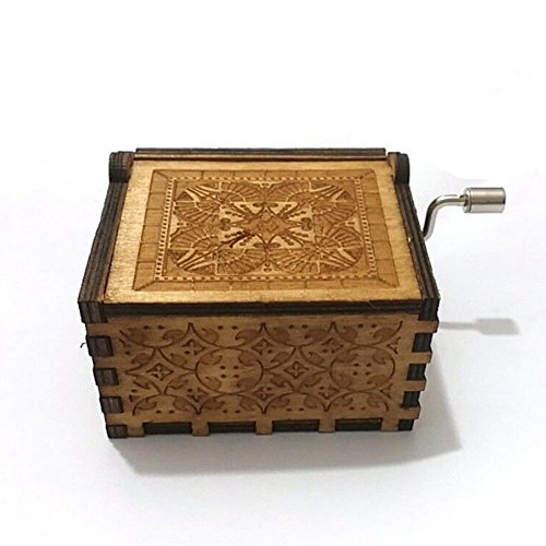 "BADARENXS Pure hand-classical ""harry potter "" music box hand-wooden music box creative wooden crafts best Gifts"